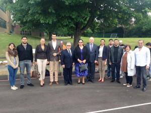 Tuncalı, Hornsey Atatürk Okulu tarafından düzenlenen Yaza Merhaba Etkinliği'ne katıldı (14 Haziran 2015)