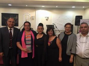 Tuncalı, Kıbrıslı Sanatçılar Platformu tarafından organize edilen Kıbrıslı Türk sanatçı Umut Albayrak'ın konserine katıldı. (10 Temmuz 2015)
