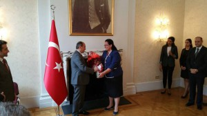 Ambassador Tuncalı paid a visit to Turkish Ambassador Abdurrahman Bilgiç (20 July 2015)