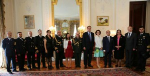 Ambassador Tuncalı attended the Victory Day reception at the Turkish Embassy (1 September 2015)