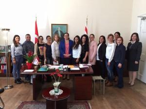 Büyükelçi Oya Tuncalı Birleşik Krallık Türk Dili ve Kültürü Okulları İçin Görevlendirilen Öğretmenleri Kabul Etti