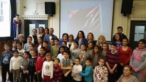 Cumhurbaşkanımızın Eşi Sayın Meral Akıncı, Ali Rıza Değirmencioğlu Türk Okulu'nu ziyaret etti (24 Ekim 2015)
