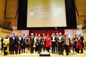 Ambassador Tuncalı attended the Waltzes with Sultans concert held at Cadogan Hall organized by the Yunus Emre Institute and the Turkish Culture and Information Office (27 November 2015)