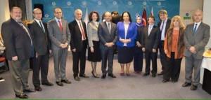 Büyükelçi Oya Tuncalı, Yunus Emre Enstitüsü'nde düzenlenen Öğretmenler Günü etkinliğine katıldı.